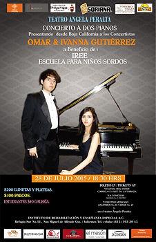Concierto en Angela Peralta Gto. Omar e Ivanna