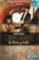 Concierto en Teatro Universitario Club Rotary Omar e Ivanna