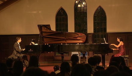 The Art of Two Pianos live in SH.