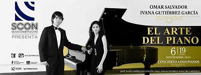 Concierto en SCON la Paz B.C.S. Omar e Ivanna