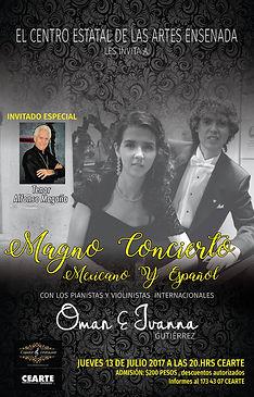 Concierto en Ensenada Omar e Ivanna CEART Ens.