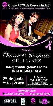 Concierto en CEART Ens. Grupo Reto Omar e Ivanna