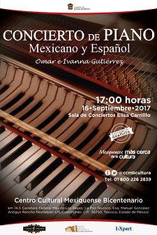 Concierto CCMB Omar e Ivanna Edo. de Mex.
