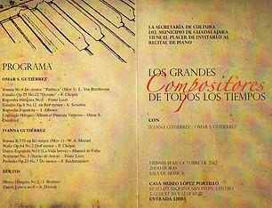 Concierto en Museo Portillo Guadalajara Omar e Ivanna