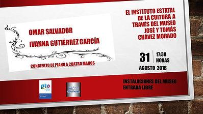 Concierto en Museo Chavez Silao Omar e Ivanna