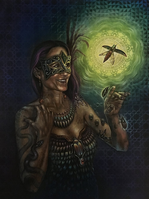 """Masquerade"" (signed)"