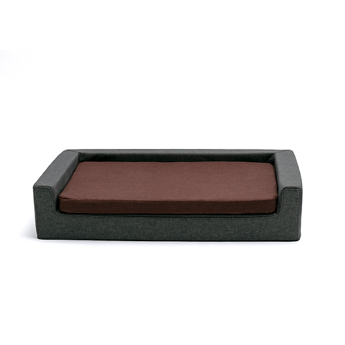 Brick Orthopedic dog bed-sofa