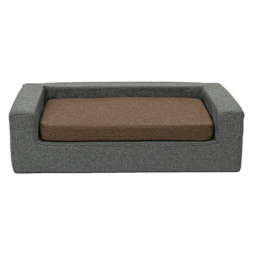 Caramel MELANGE Orthopedic dog bed-sofa