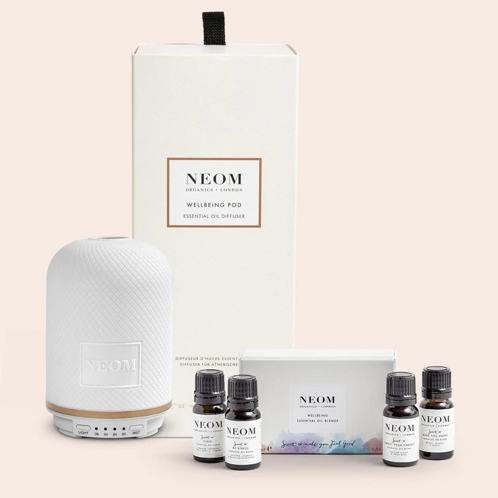 NEOM Wellbeing Pod Essential Oil Diffuser, The Lifestyle Guide