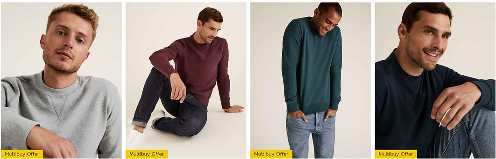M&S MENS SALE JUMPERS, THE LIFESTYLE GUIDE