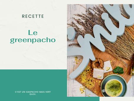 Recette de l'été : le greenpacho