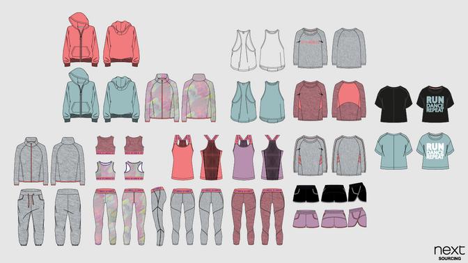 Kids Sportswear Designs