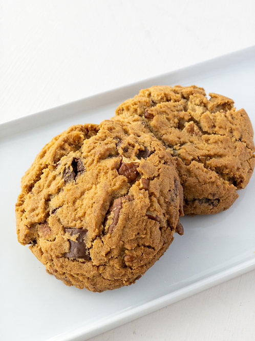 Brown Butter Turtle Cookie