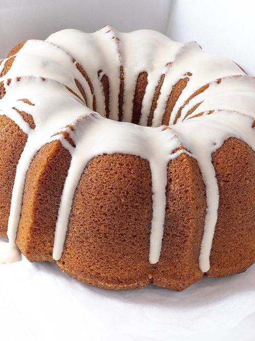 Spiced Brown Sugar Pound Cake