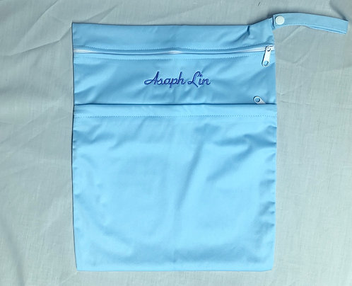 Light Blue Multipurpose Bag