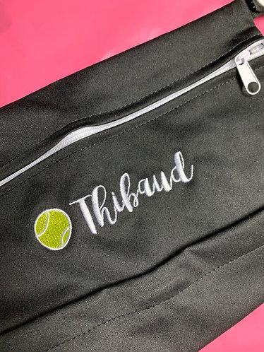 Tennis Black Wet Bag