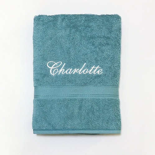 Teal Royal Cotton BATH Towel