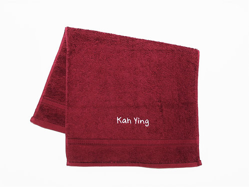 Maroon Royal Cotton HAND Towel