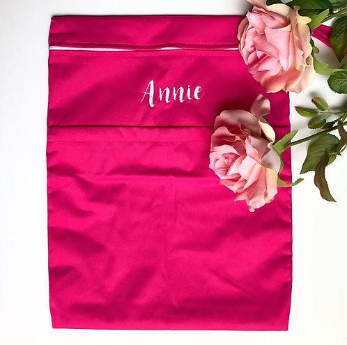 Pink Multi-purpose doubke zip Wet Bag