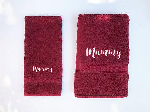 2pcs ROYAL Cotton Towel Set