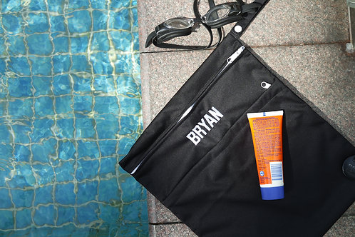 Sports Black Wet Bag