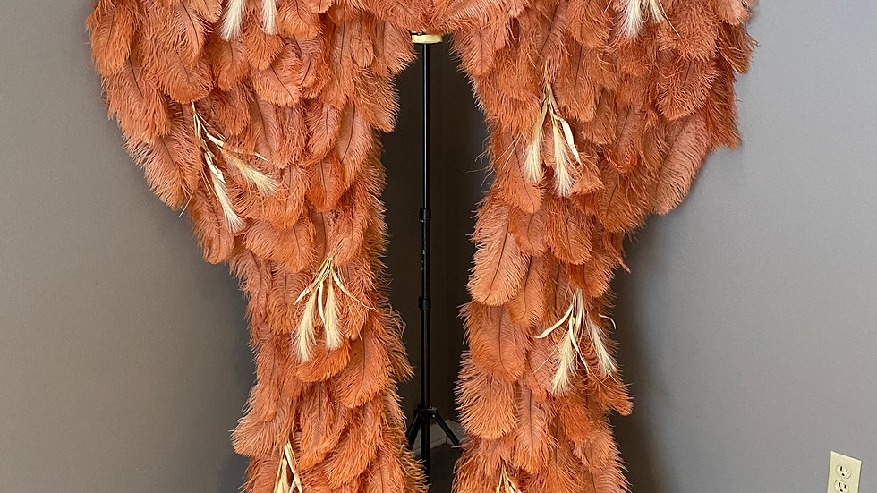 Boho Adult size Couture Angel Wings