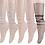 Thumbnail: Tulle Fashion Socks, 5 pair