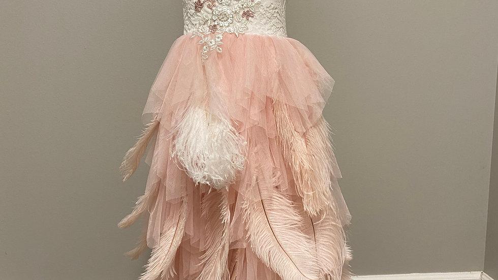 OOAK Blush Couture Girls Dress