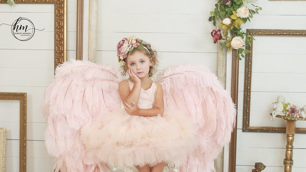 Child size Couture Angel Wing Set