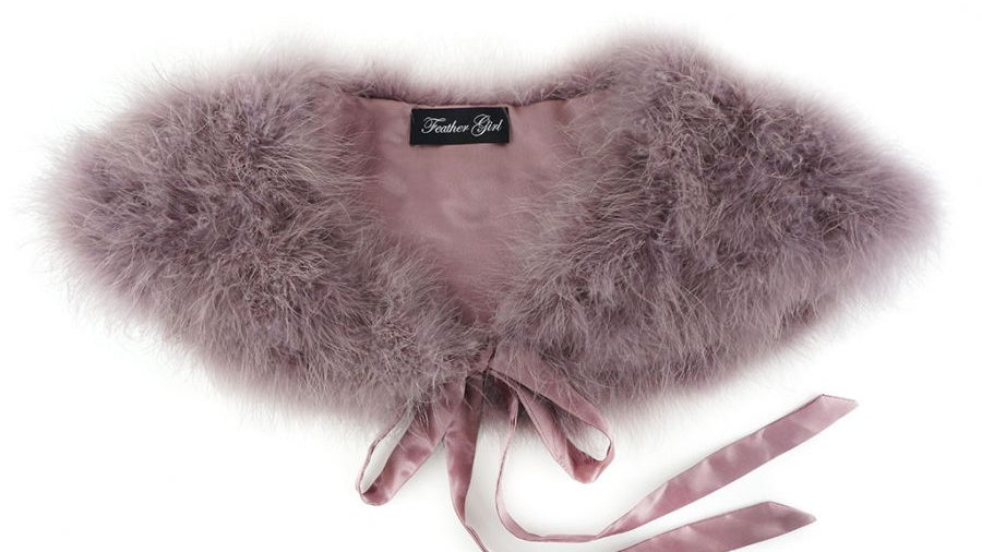 Marabou Feather Collars