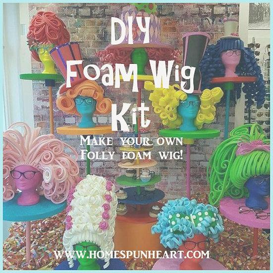 DIY Foam Wig Kit