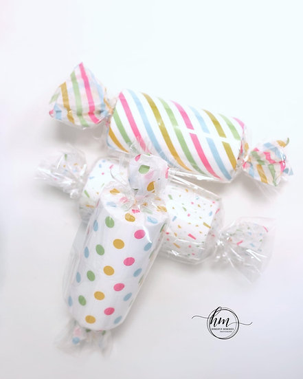 Giant Candyland Props, wrapped candies set/3