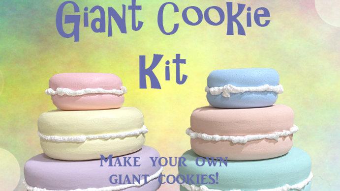 DIY Giant Cookie Kit