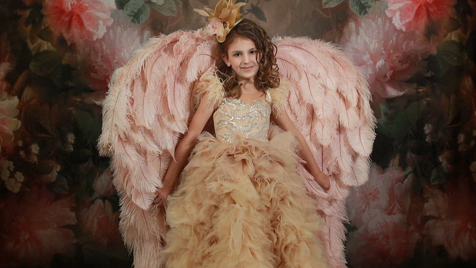 Tween size Couture Angel Wings