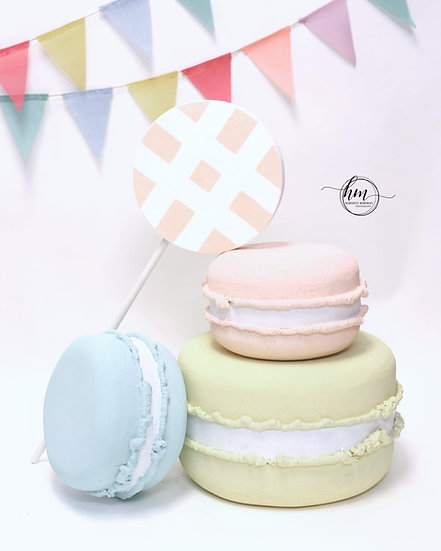 Giant Candyland Props, Macarons
