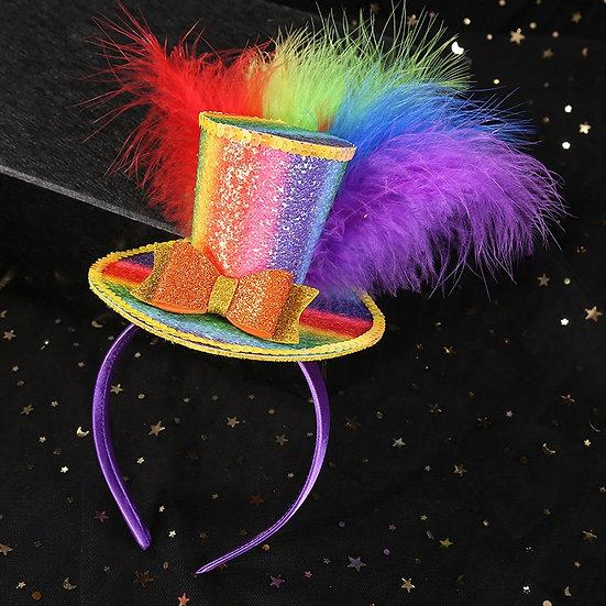 Circus/Candyland Hat Headband