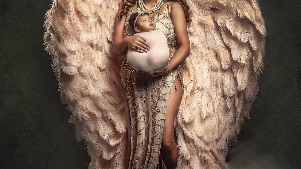 DEPOSIT Couture Angel Wings (any size)