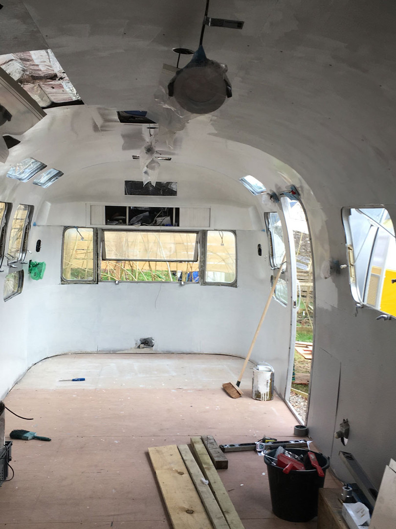 Innovation Hub - Airstream restoration 5