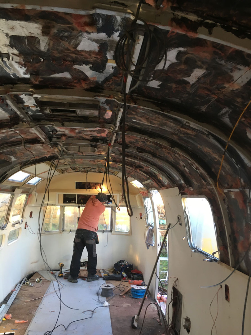 Innovation Hub - Airstream restoration 3