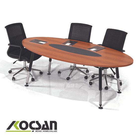 Beril Oval Toplantı Masası