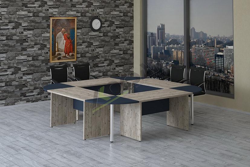 Kardelen Kare Toplantı Masası