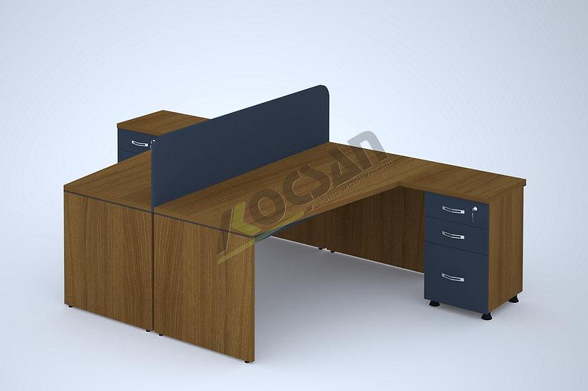 Master Workstation 2'li Çoklu Çalışma Masası