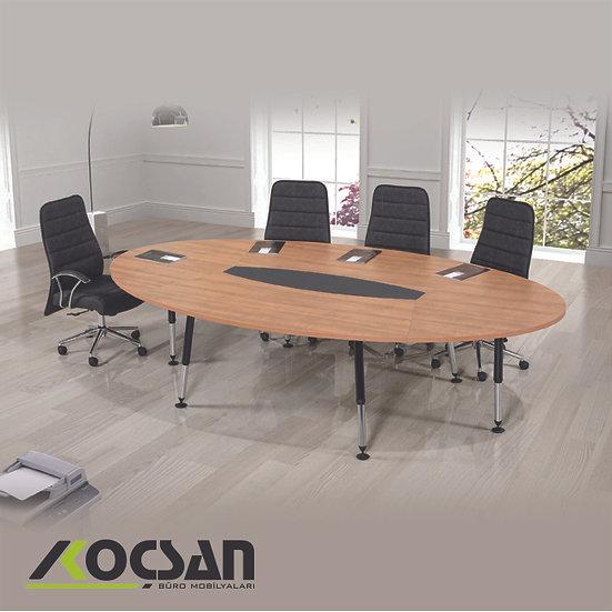 Beril Metal Ayaklı Toplantı Masası