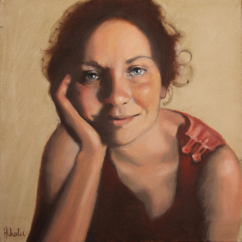 12x16in oil portrait