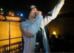 """Rap Artist J.D. """"The Chief performing live at a show!"""