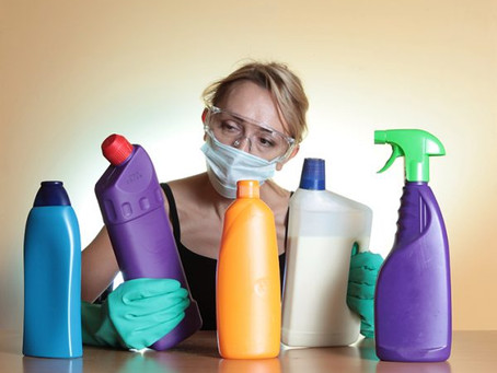 Les produits d'entretien agressent gravement vos poumons