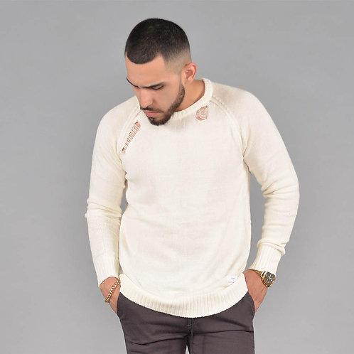 NYTS Tattered Sweater (Bone)