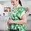 Thumbnail: Woven Floral Button Down W/Tie Belt