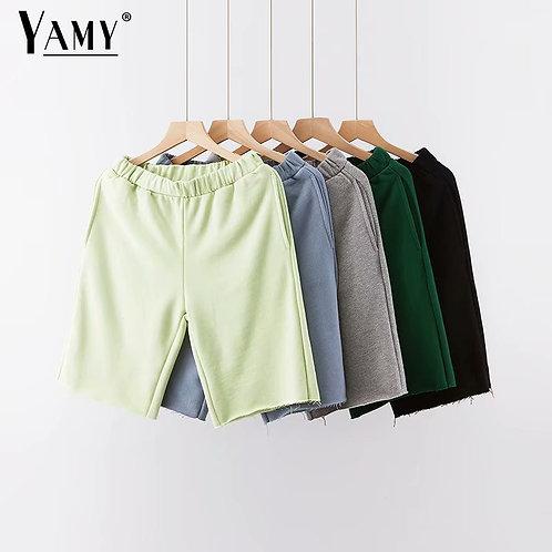 Loose Shorts With Pocket