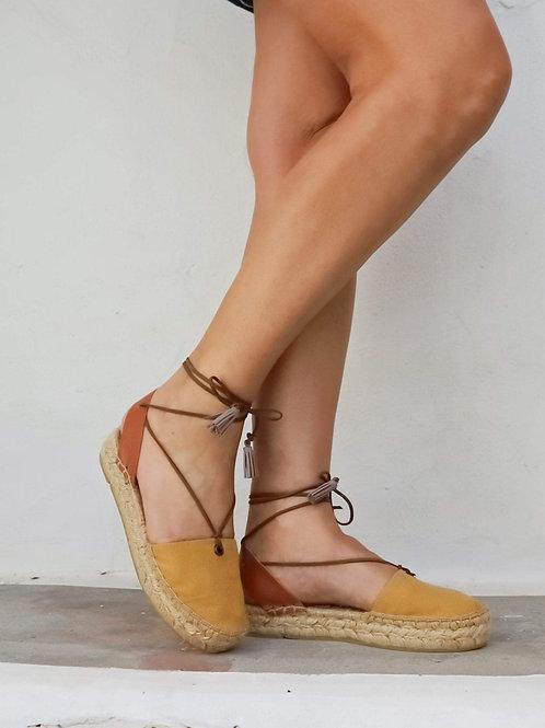 Espadrilles Sandals - Marigold Yellow